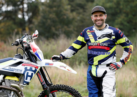 Chris Hockey - Husqvarna Off Road Tryout
