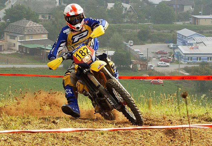 Chris Hockey Representing Husqvarna