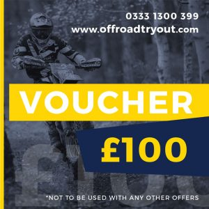Off Road Tryout Course Voucher - Husqvarna