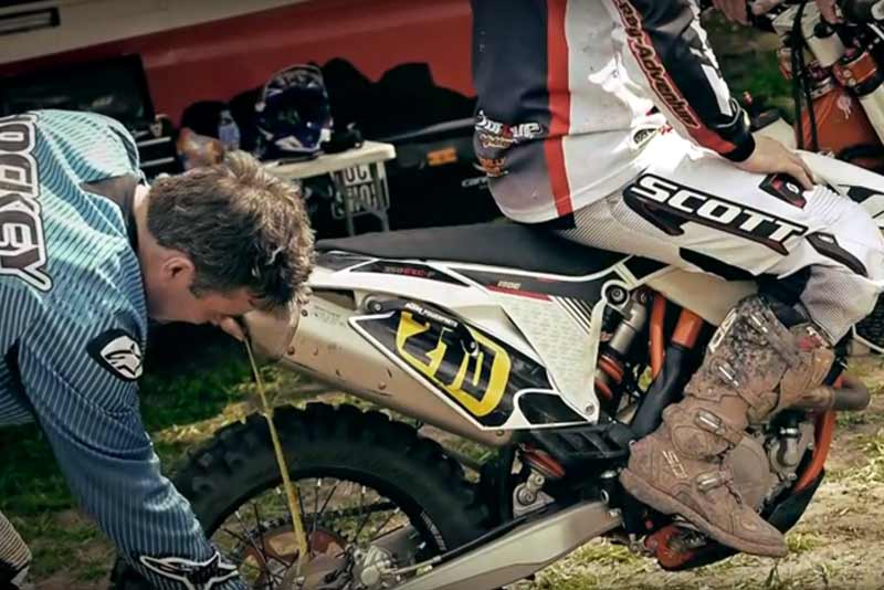 Suspension Setup Day - Husqvarna